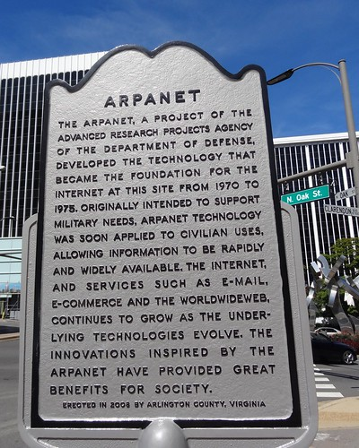 Arpanet historical marker.
