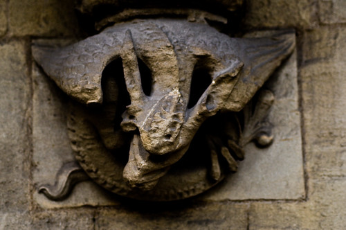 Westminster - Dragon on the Abbey - 09-12-12