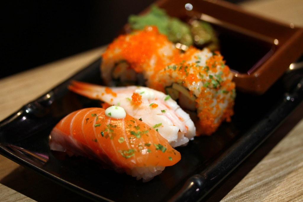 Kiseki日本自助餐餐厅:寿司精选5