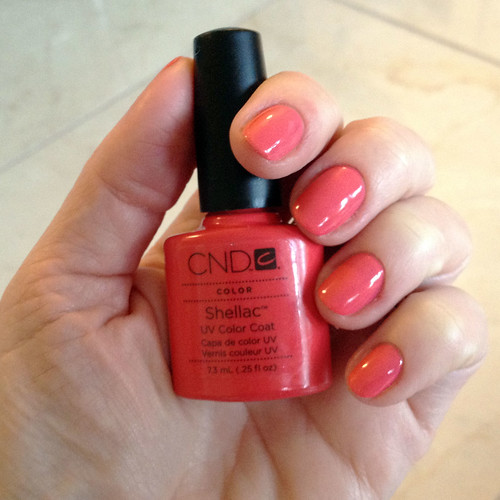 Cnd Shellac For Nails Next Step Beauty