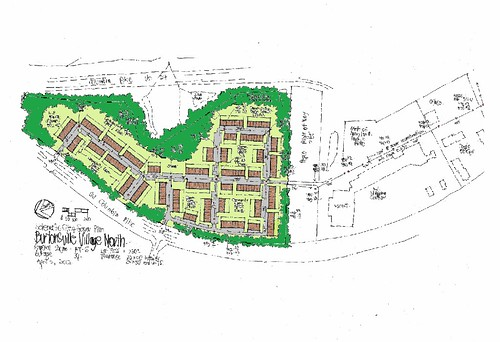 Proposed Townhouse Development in Burtonsville Village Center