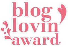 blog lovin award