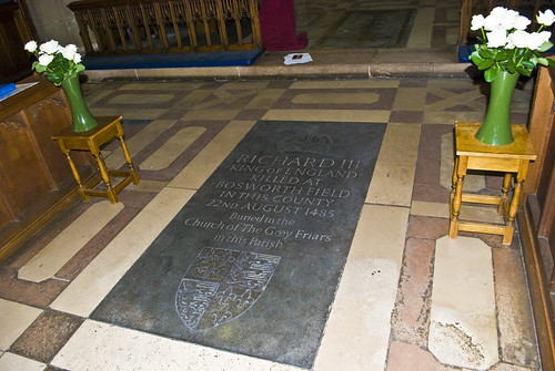 Richard III memorial at Leicester Cathedral