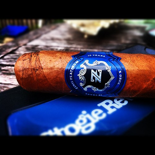 Smoking a Ten by @ZinoPlatinum