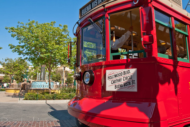 Red Car Trolley - Buena Vista Street - Disney California Adventure