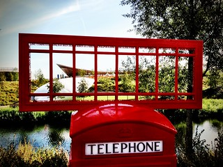 Telephone Box Art, London 2012 Olympic Park