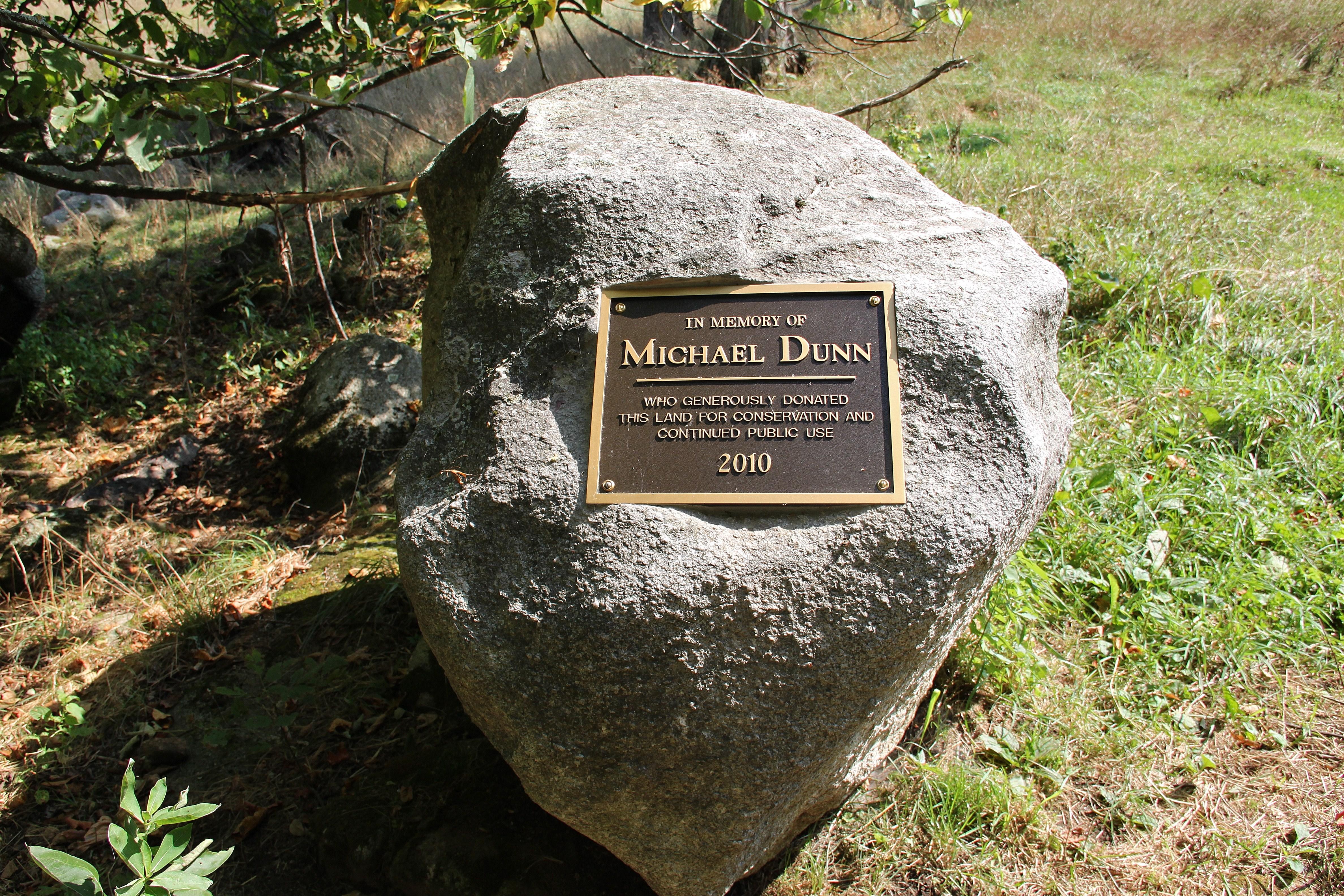Dunn plaque eagle point unit of missisquoi national wildli for Dunn fish farm