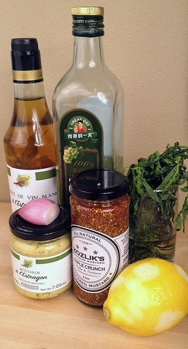 Tarragon Vinaigrette Ingredients