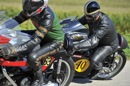 Norton Manx 1962 classic motorcycle racer Schleifer Oldtimer Grand Prix 2012 Schwanenstadt Austria Copyright B. Egger :: eu-moto images 1252