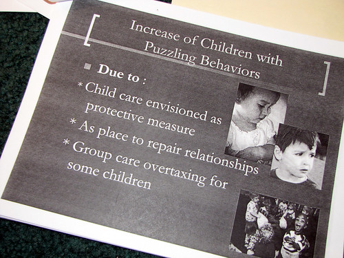 Increase of children with puzzling behaviors