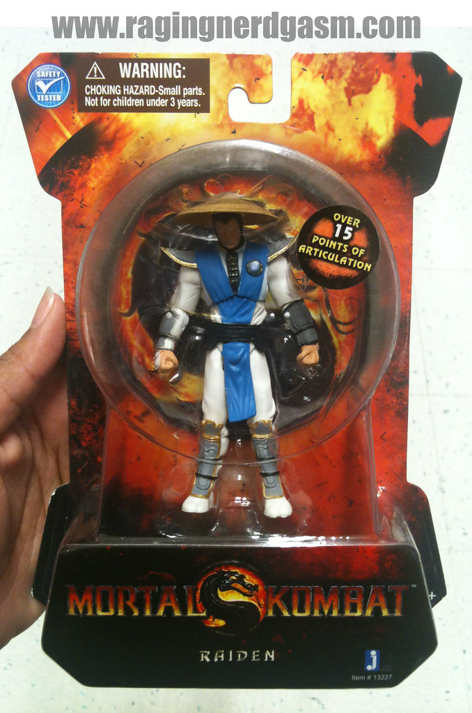 Mortal Kombat Action figures by Jazwares Raiden 007
