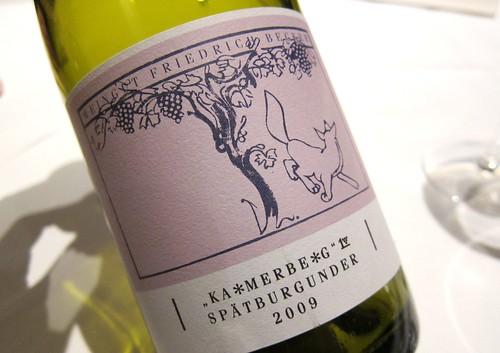 2009 Becker Kammerberg Pinot