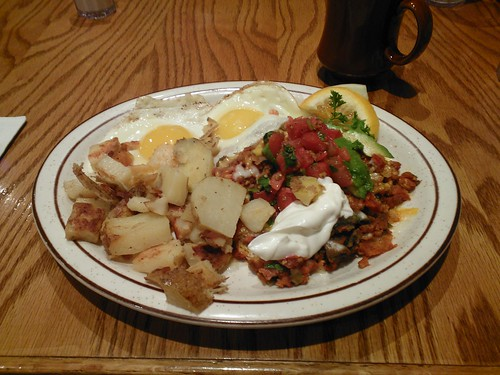 Tamale Pie and Eggs