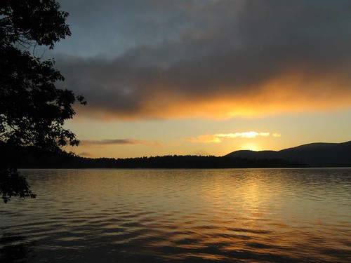 Sunrise on Squam Lake, Day 1