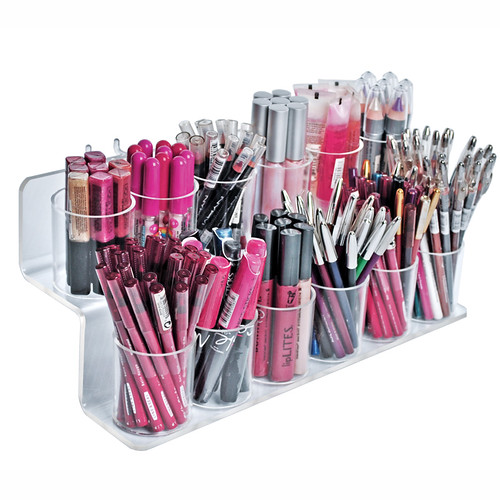 lipstick lipsticks makeup make up nail polish storage display displays collection organization