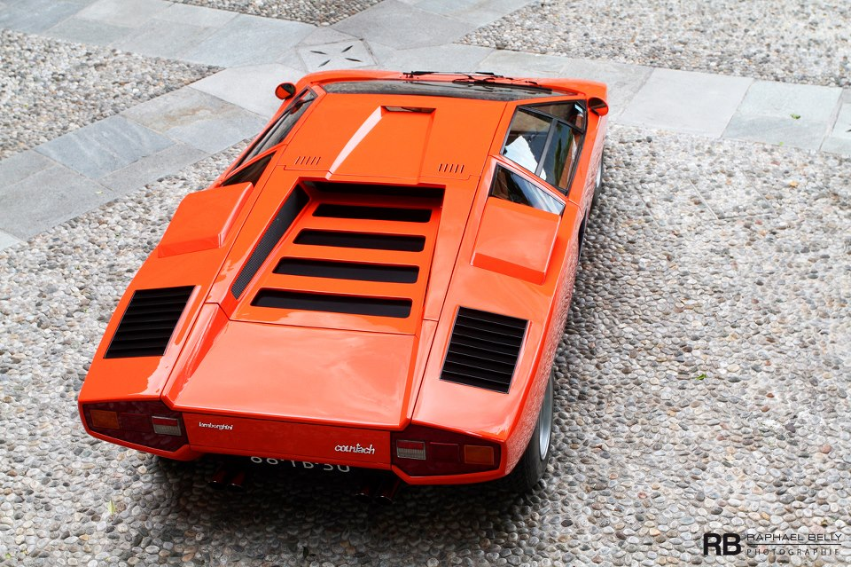 The Amazo Effect 1975 Countach LP 400 , An Early Exclamation
