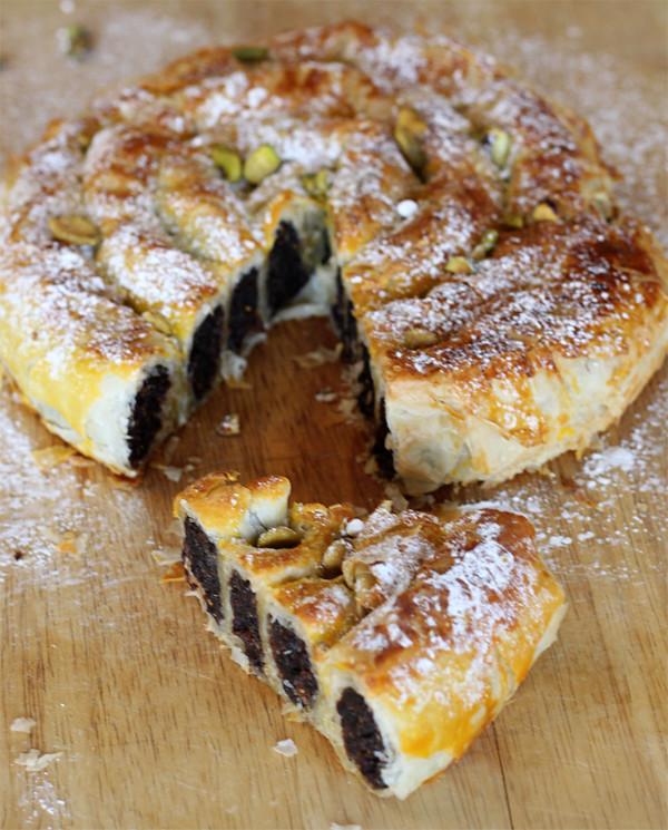 Mediterranean Magic - M'hanncha - Moroccan Snake Pastry