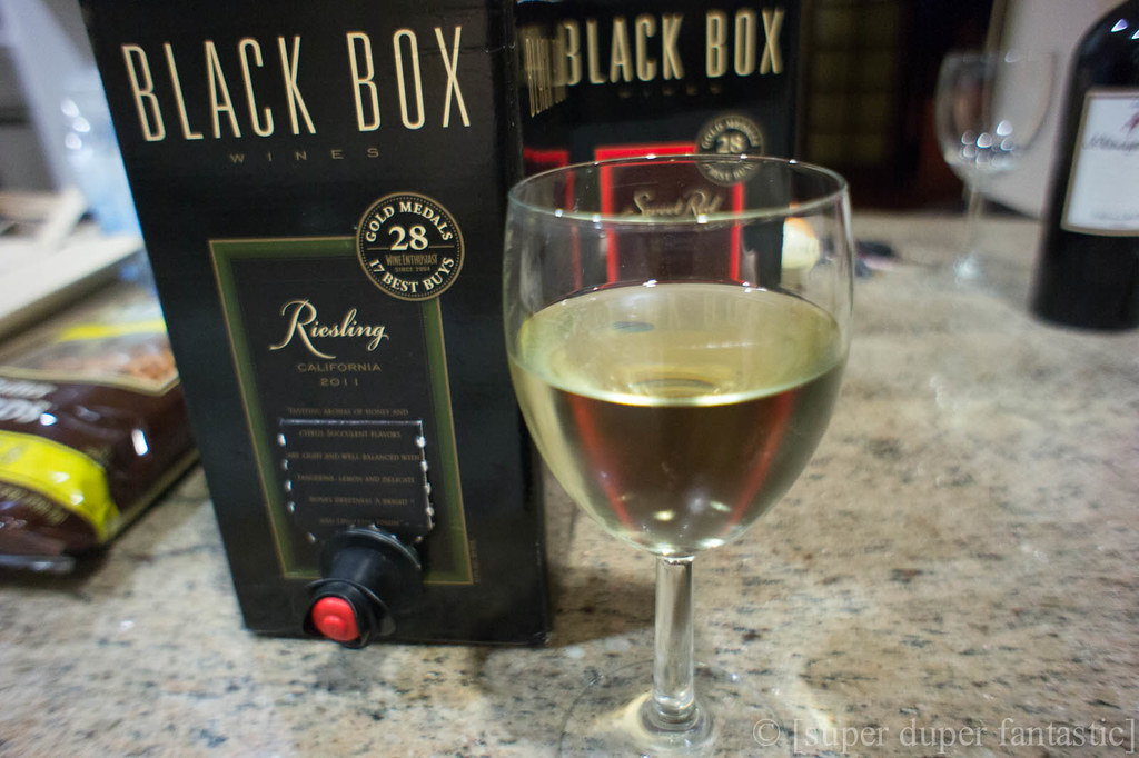 Saturday Swig - Black Box California Riesling