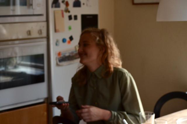 Annie i Oskars kök.