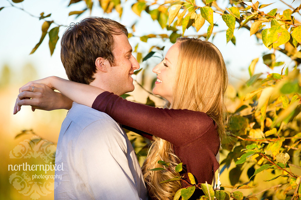 Cottonwood Island Park Engagement Photo Session Prince George