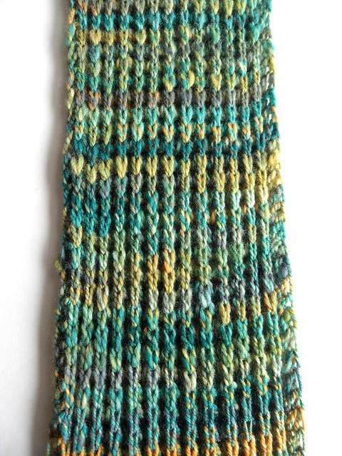 FCK-Quackenbush scarf-6x130 inches-Polwarth-2-ply