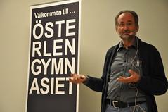 Sture Hansson talar om Östersjöns ekologi och biologi