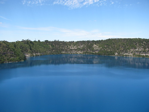 The Blue Lake, Mt Gambier by holidaypointau