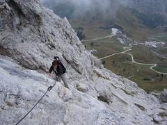 Aufstieg auf die Grosse Cir-Spitze