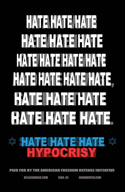SUBWAY HATE POSTER