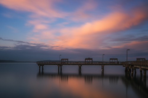 longexposure sunset sky water clouds pier washington nikon northwest pacificnorthwest wa pugetsound tacoma washingtonstate rustonway leedavis leefilters d800e