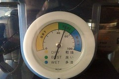 wheel(0.0), tool(0.0), speedometer(0.0), tachometer(0.0), gauge(1.0), measuring instrument(1.0),