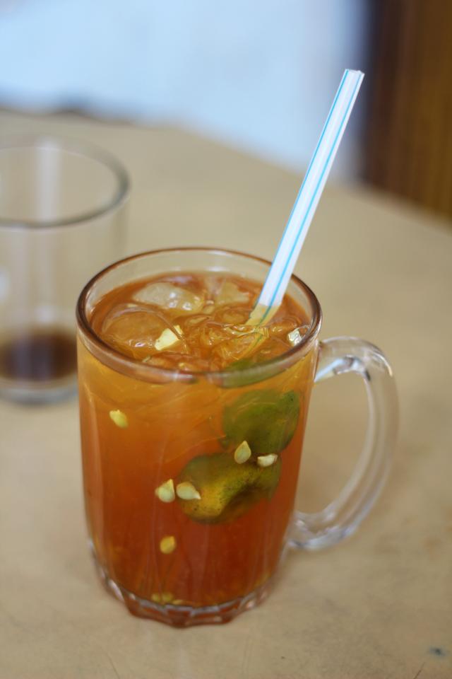 Malaysian lemon ice tea