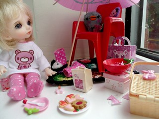 Rainy afternoon tea party