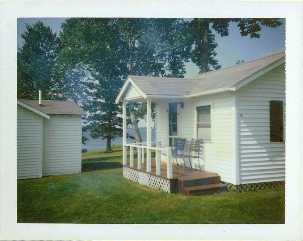 Enjoyable Polaroid Print Of Emerys Cottages Bar Harbor Maine Flickr Beutiful Home Inspiration Semekurdistantinfo