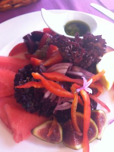 Red Salad @Shanti Som