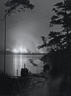 Filipstadulykken sett fra Bygdø (1943)