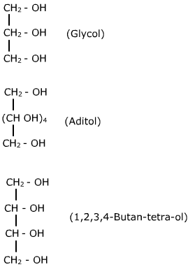 polyhydric alcohols<