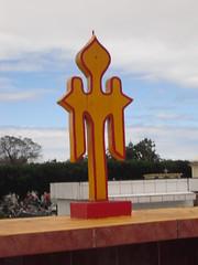 Symbole sur une tombe