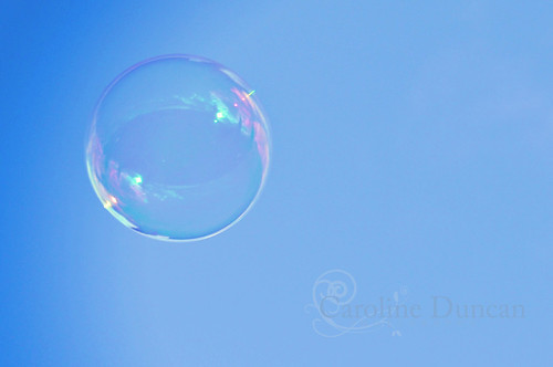 52 weeks 2012. Week 37. Bubble