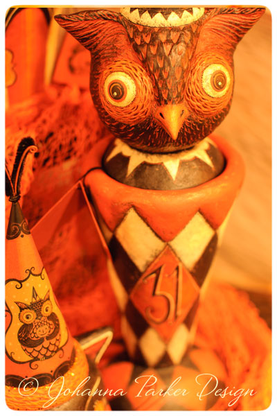 Owl-Vase