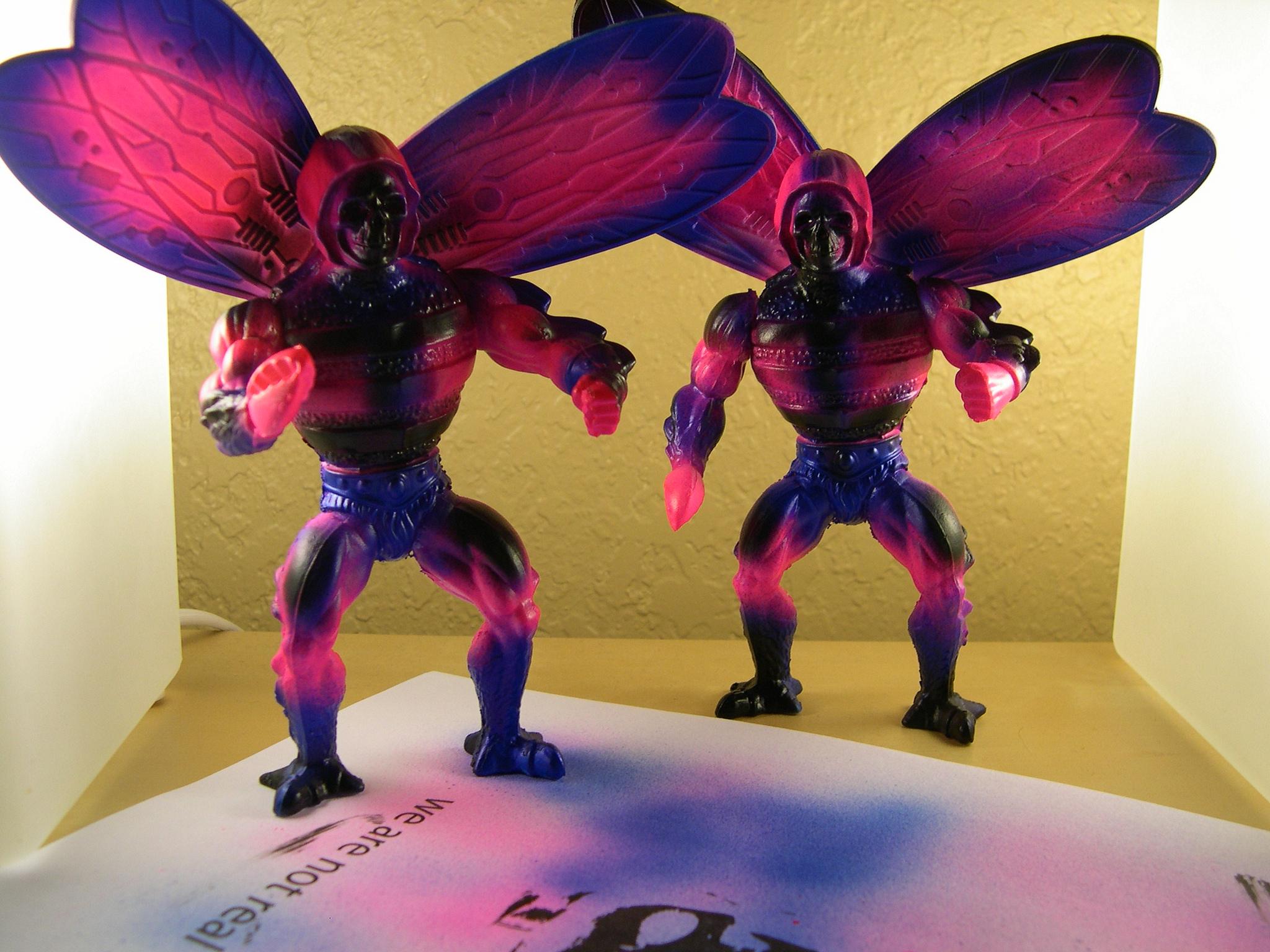 Giant Japanese Monster, Bad Pop Offs, Pink Blue Black sprays... Custom headers.