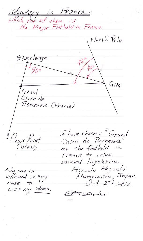 (53)フランスの謎(Grand Cairn de Barnenez)(1)