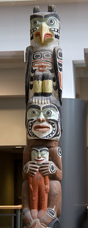 Image of Totem Poles. canada