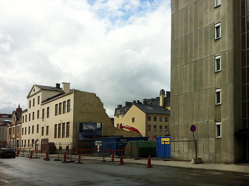Grimman mot Maria Prästgårdsgata