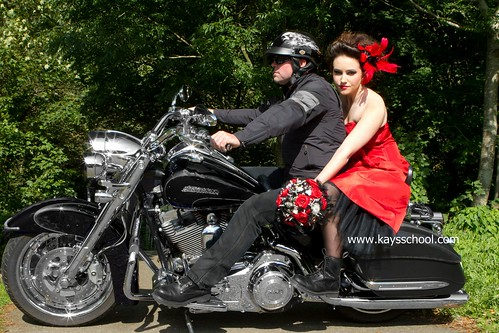 Rock Chick Heirloom Bridal Bouquet