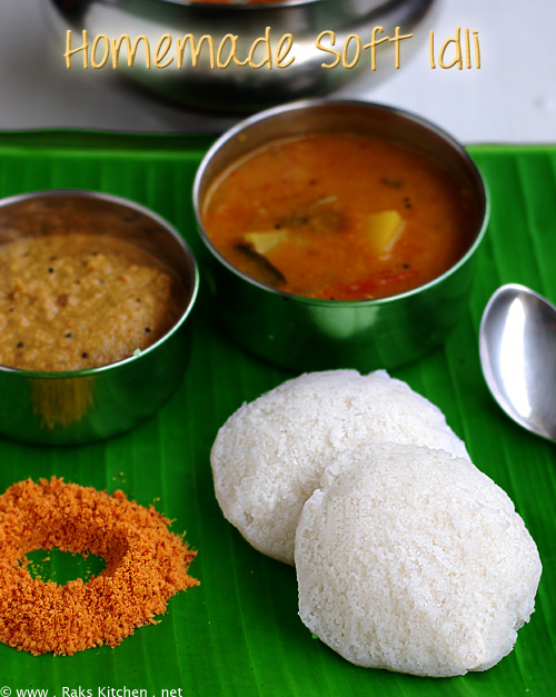 Idli-recipe-soft
