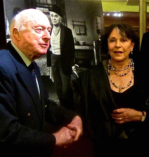 norman lloyd and claire bloom a academy