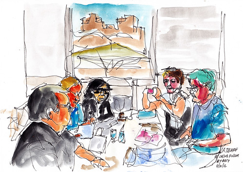La troupe at Caixa Forum for RPD and JKPP