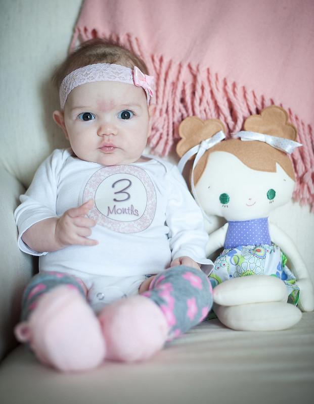 Clara 3 months 8681