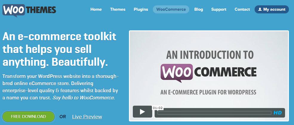 Plugin tạo trang bán hàng dùng nhiều nhất trong năm 2012